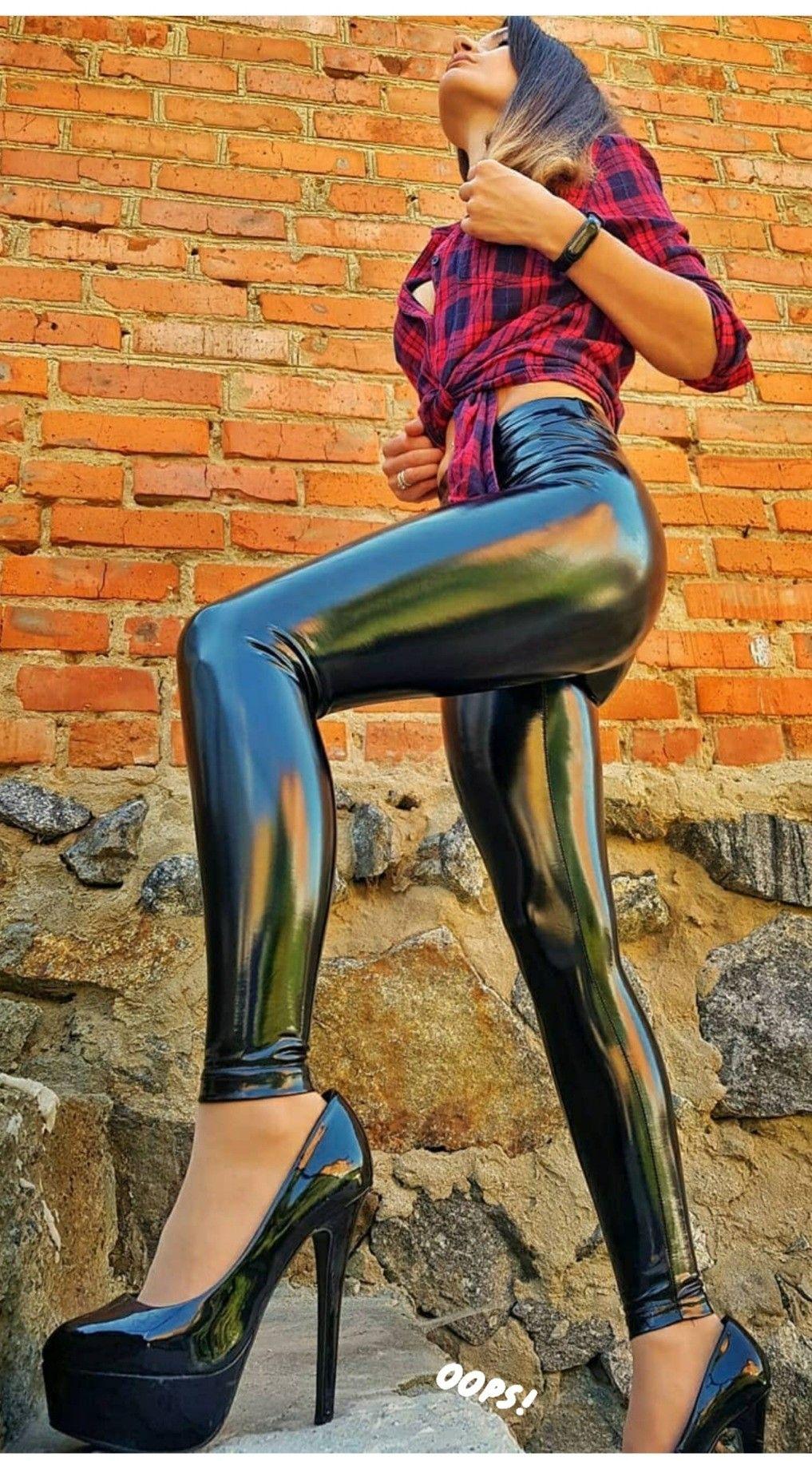 Pin von Jessica justino auf Olga in 2020 | Leggings, Leder