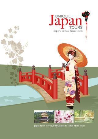Unique Japan Tours Travel Brochure | Travel brochure and Japan