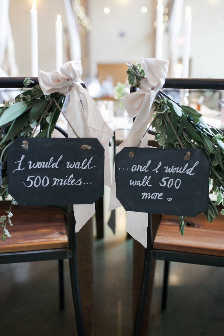 Wedding decorations unique  Unique Ideas For Decorating The Bride And Groomus Wedding Chairs