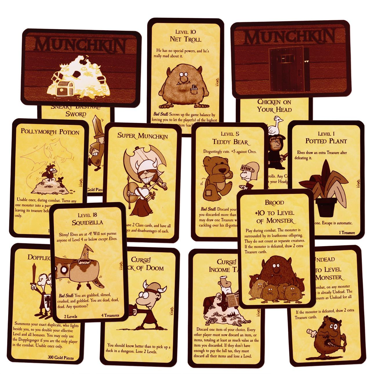 Munchkin Cards Fun Card Games Classic Card Games Game Card Design