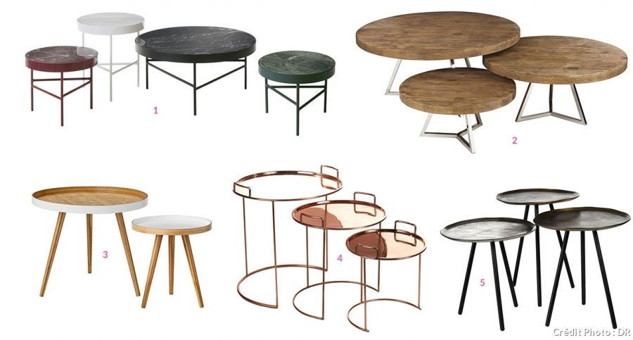 20 Tables Basses Gigognes A Partir De 59 99 Table Basse Gigogne Table Basse Table Basse Gigogne Maison Du Monde