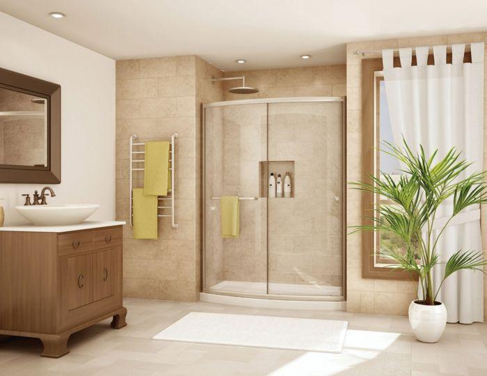 1001 ideas de duchas de obra para decorar el ba o con - Estanterias para duchas ...