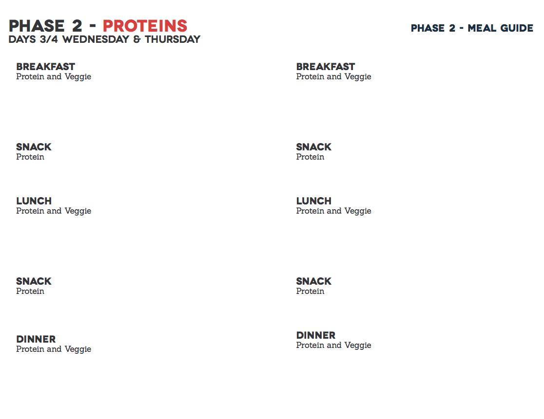 Meal planning worksheet Fast Metabolism Diet – Meal Plan Worksheet