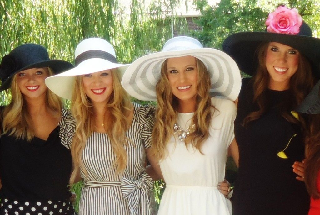 Recently Two Of My Friends Put Together A Completely Lovely Kentucky Derby Themed Bridal Shower For An Adorable Bride To Be