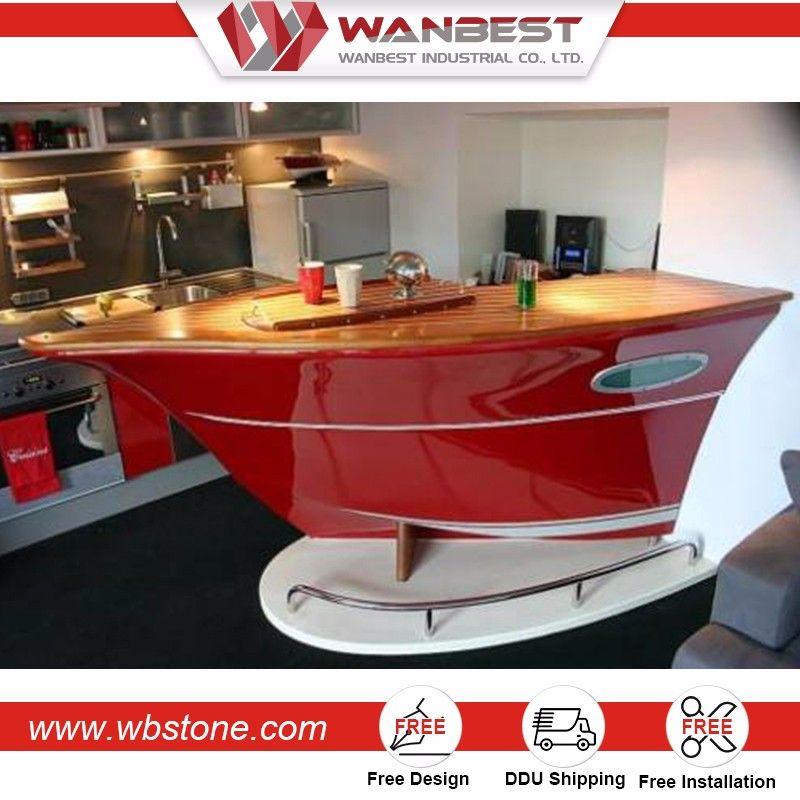 Shenzhen Wb Bc 154 High Top Table And Stools Boat Shaped Bar Boat Bar Bar Counter Bars For Home
