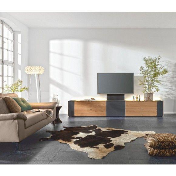 """das tv-element """"q-media"""" aus dem hause musterring bringt stil und, Wohnzimmer"""