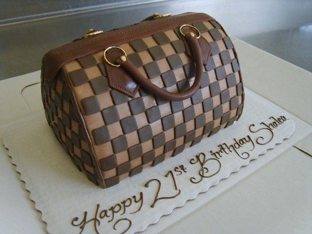 Cake Purse From Oakmont Bakery