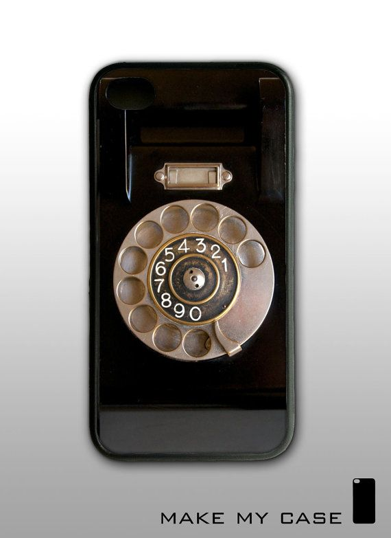 Vintage Phone  iPhone 4 Case iPhone 4s Case iPhone 4 by MakeMyCase, $16.99 MUST HAVE THIS!!!!!!!!!