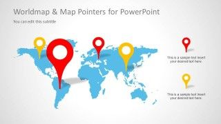 Worldmap map pointers for powerpoint pointers worldmap and template world map map pointers for powerpoint presentations powerpoint templates network gumiabroncs Image collections