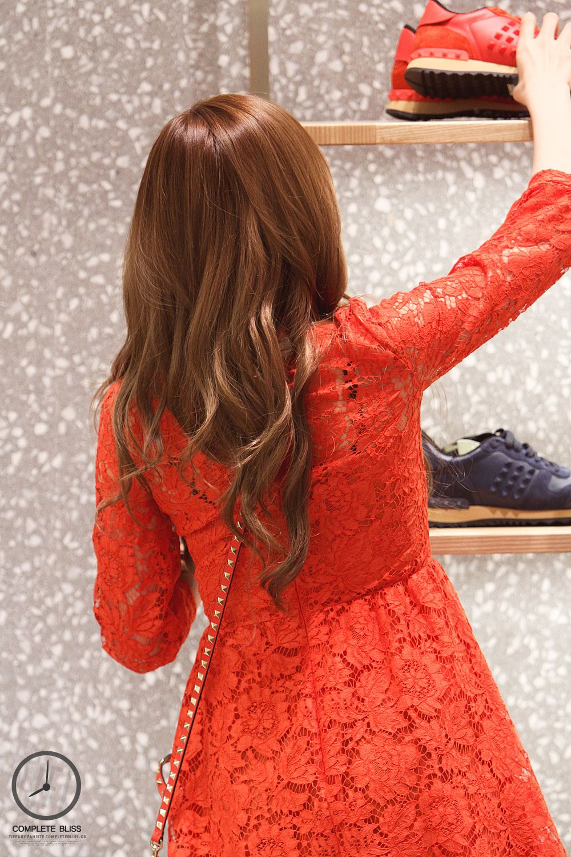 صور عاليه الجوده تيفاني في حدث افتتاح متجر الاكسسوارت Valentino بتاريخ 20 ديسمبر Sone Arab F Girls Generation Tiffany Valentino Store Girls Generation