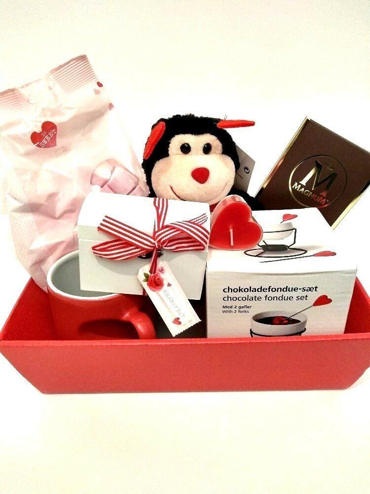 Valentines Gift Basket / Hamper Fondue Gift Set for Wife Girlfriend Fiance   eBay