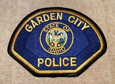 Garden City Idaho Police Patch Police Patches Patches Police