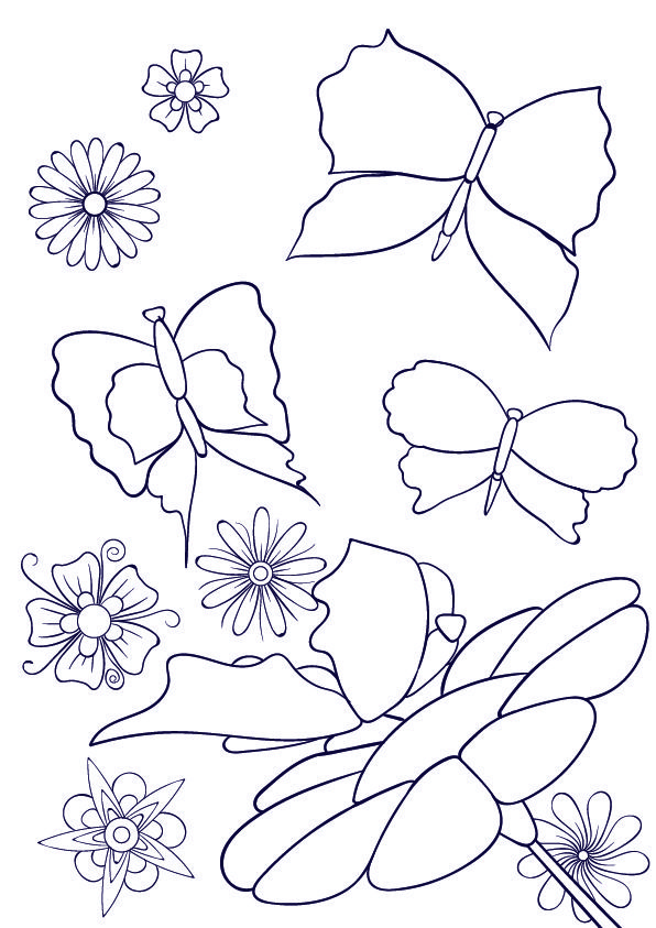Learn How to Draw a Butterfly on a Flower - Step by Step Tutorial