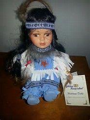 Image result for Native American Porcelain Dolls