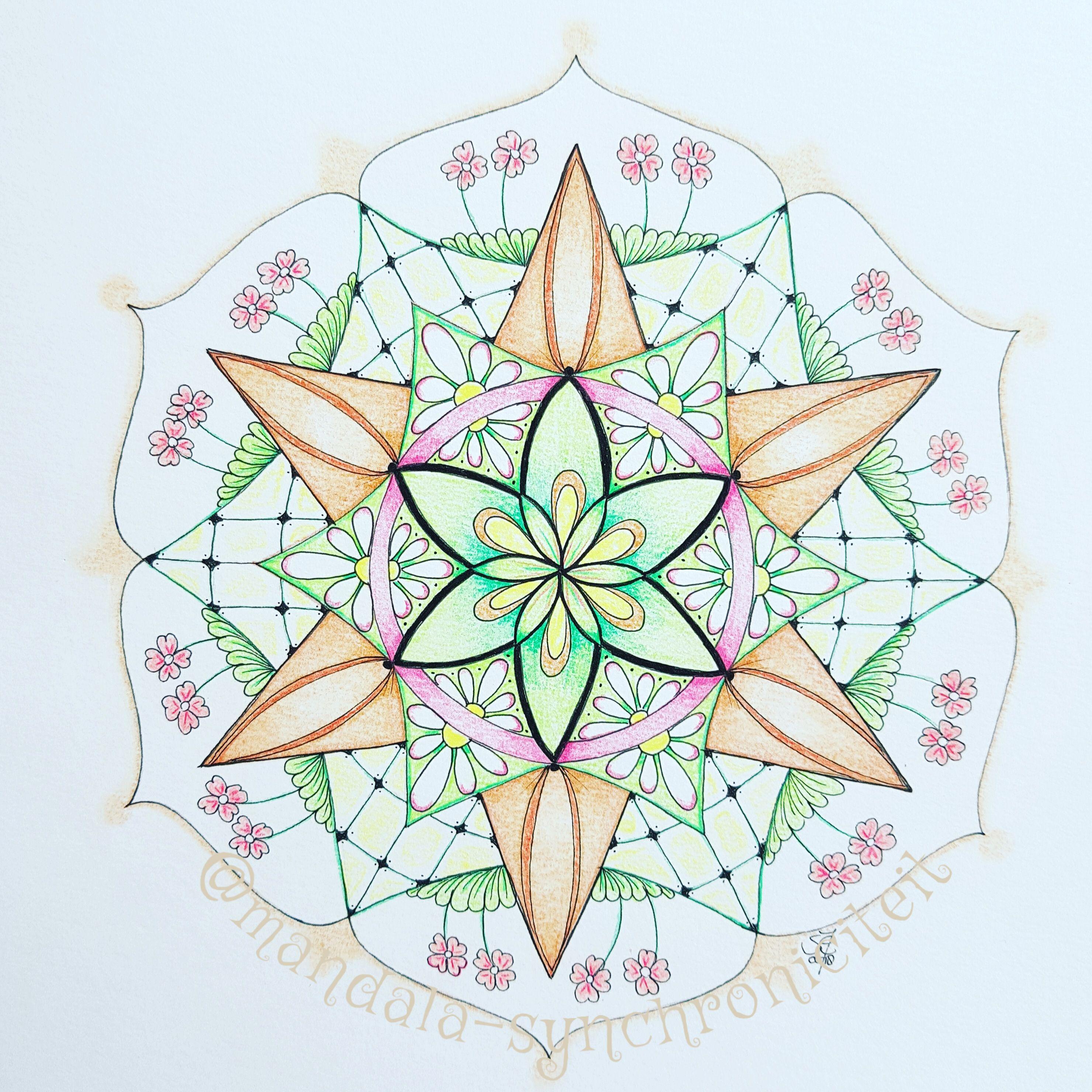 Pin Op Mandala