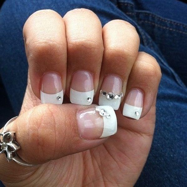 Wedding Nails | Wedding, Bridal nails and Nail nail