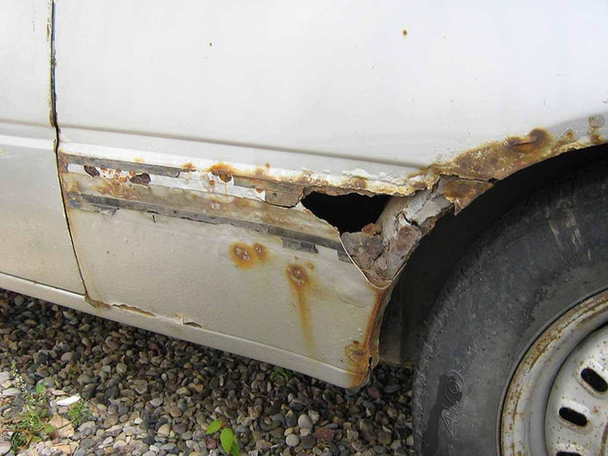 How To Repair A Rust Hole In Your Car Pinning For Info To