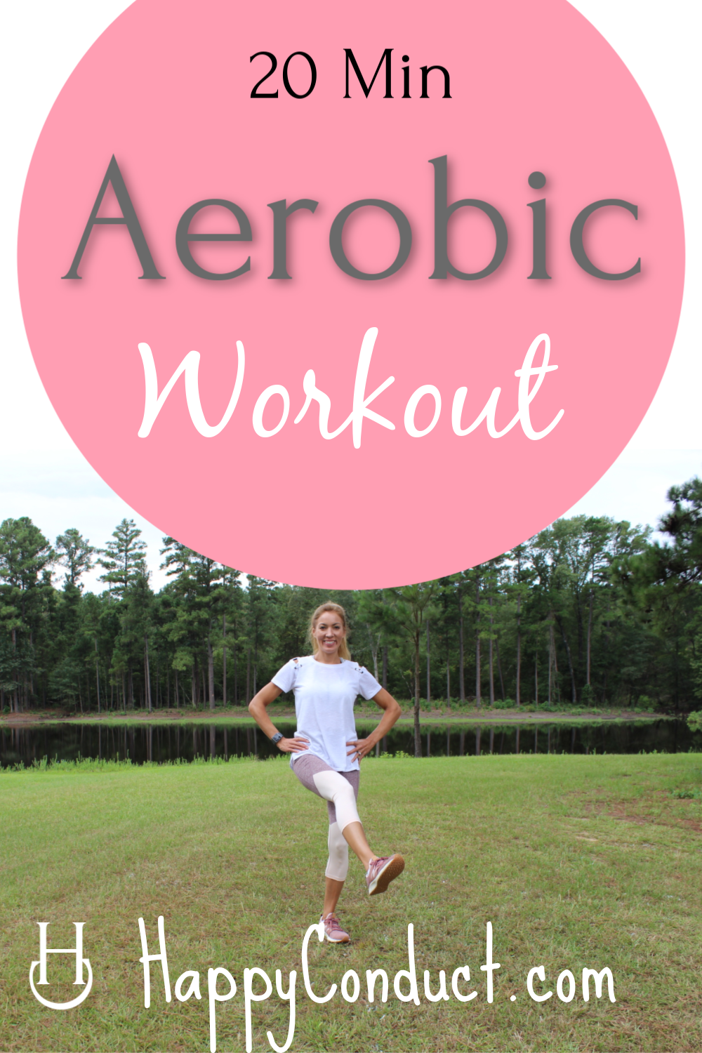 Great aerobic workout for anyone from beginner to advanced. This is an at-home, low impact aerobic w...