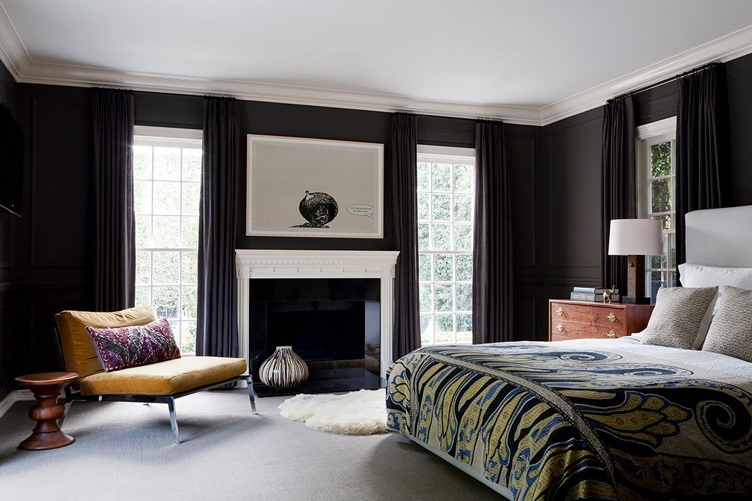 11 insanely cool bedroom paint colors every pro uses on paint colors designers use id=89687