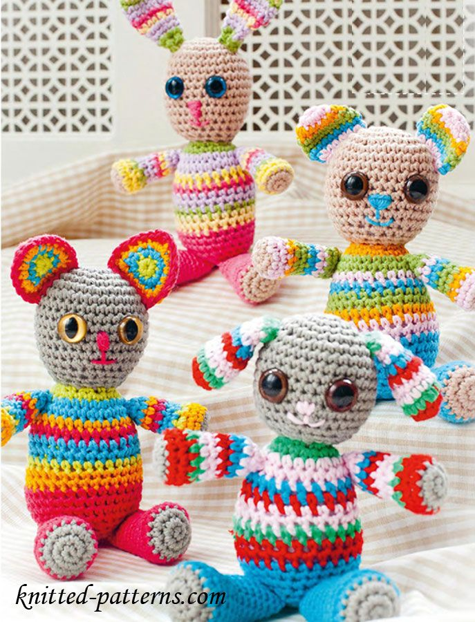 Free Crochet Toys Patterns | AMIGURUMIS | Pinterest | Patrones ...