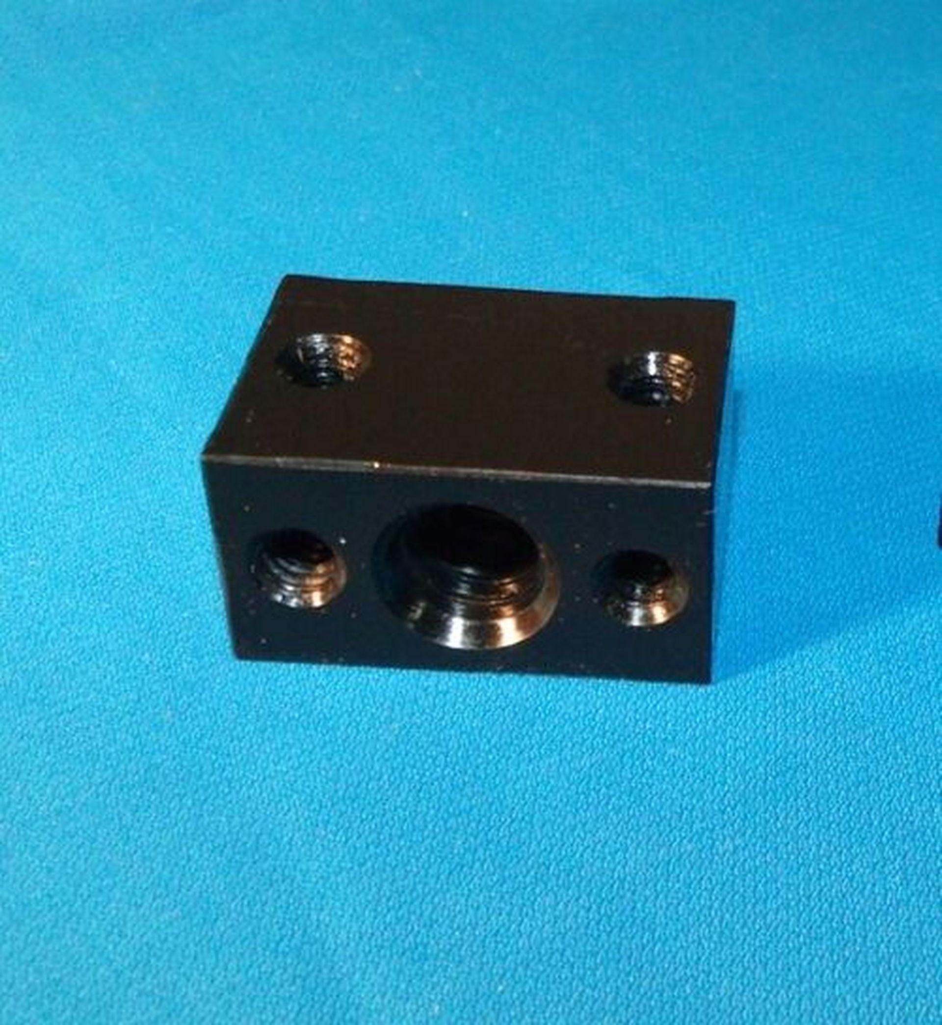 1 2 10 Acme Delrin Nut Block Rh For Acme Threaded Rod 5 Start Cnc 3d Printer Acme Thread 3d Printer Printer