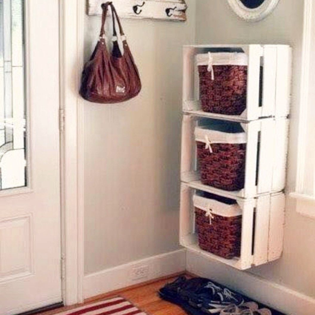 Best Creative Storage Solutions For Small Spaces Small 640 x 480