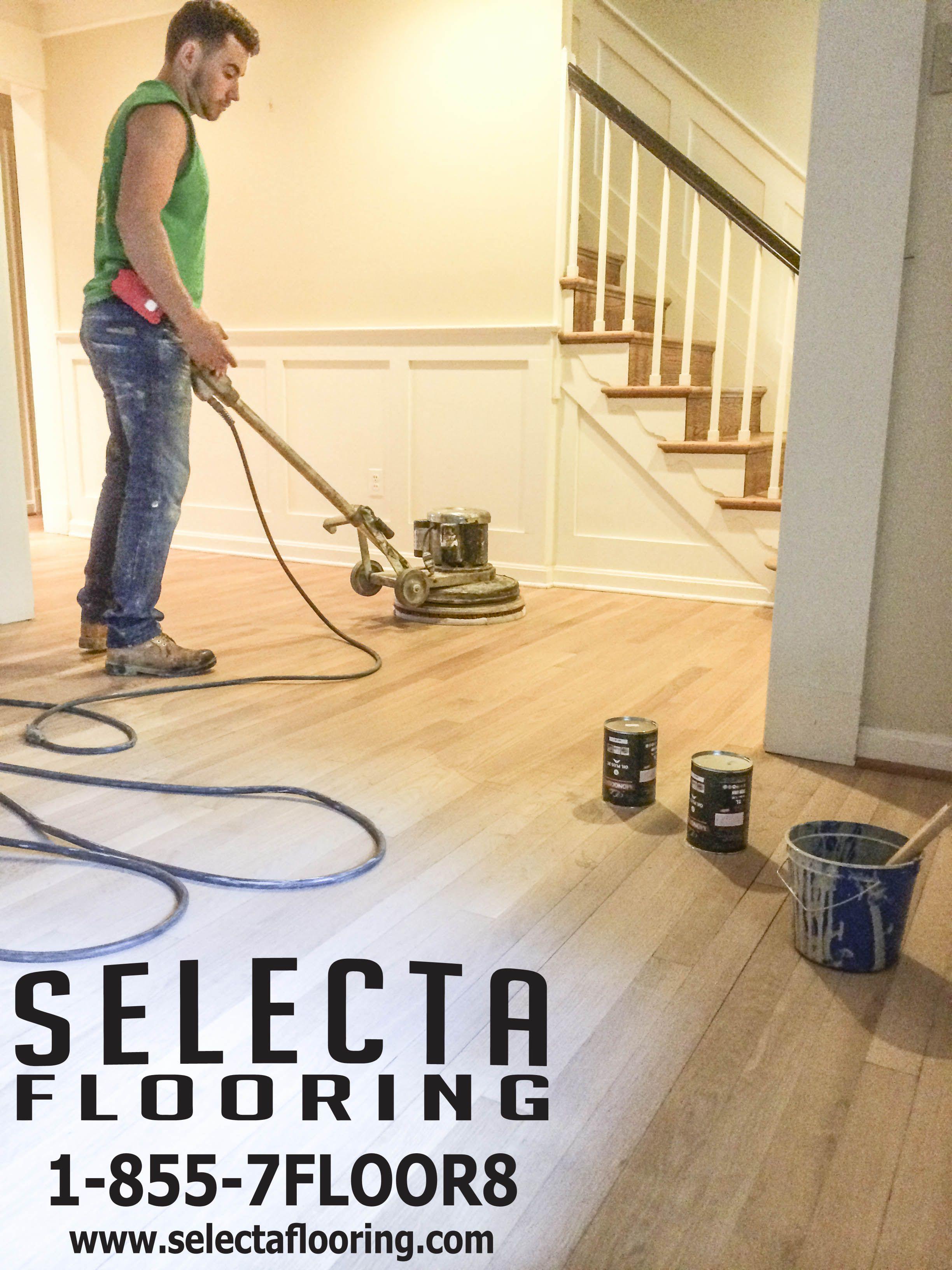Rubio Monocoat 2c 5 Mist On White Oak Application Selectaflooring Hardwood Floors Floor Installation Flooring