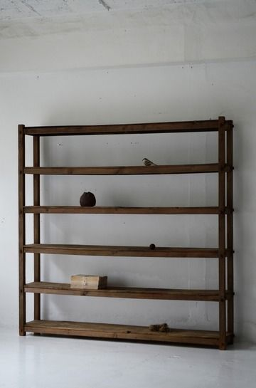 demode furniture. shelves