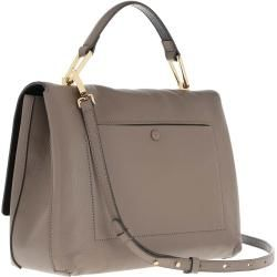Coccinelle Liya Tote Bag Taupe/Noir in grau Satchel Bag für Damen Coccinelle – Boda fotos