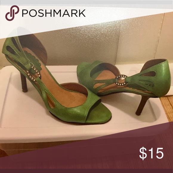 2e95e18730e5 ALDO Heels ALDO Green Heels Size 37 ALDO Shoes Heels   My Posh ...