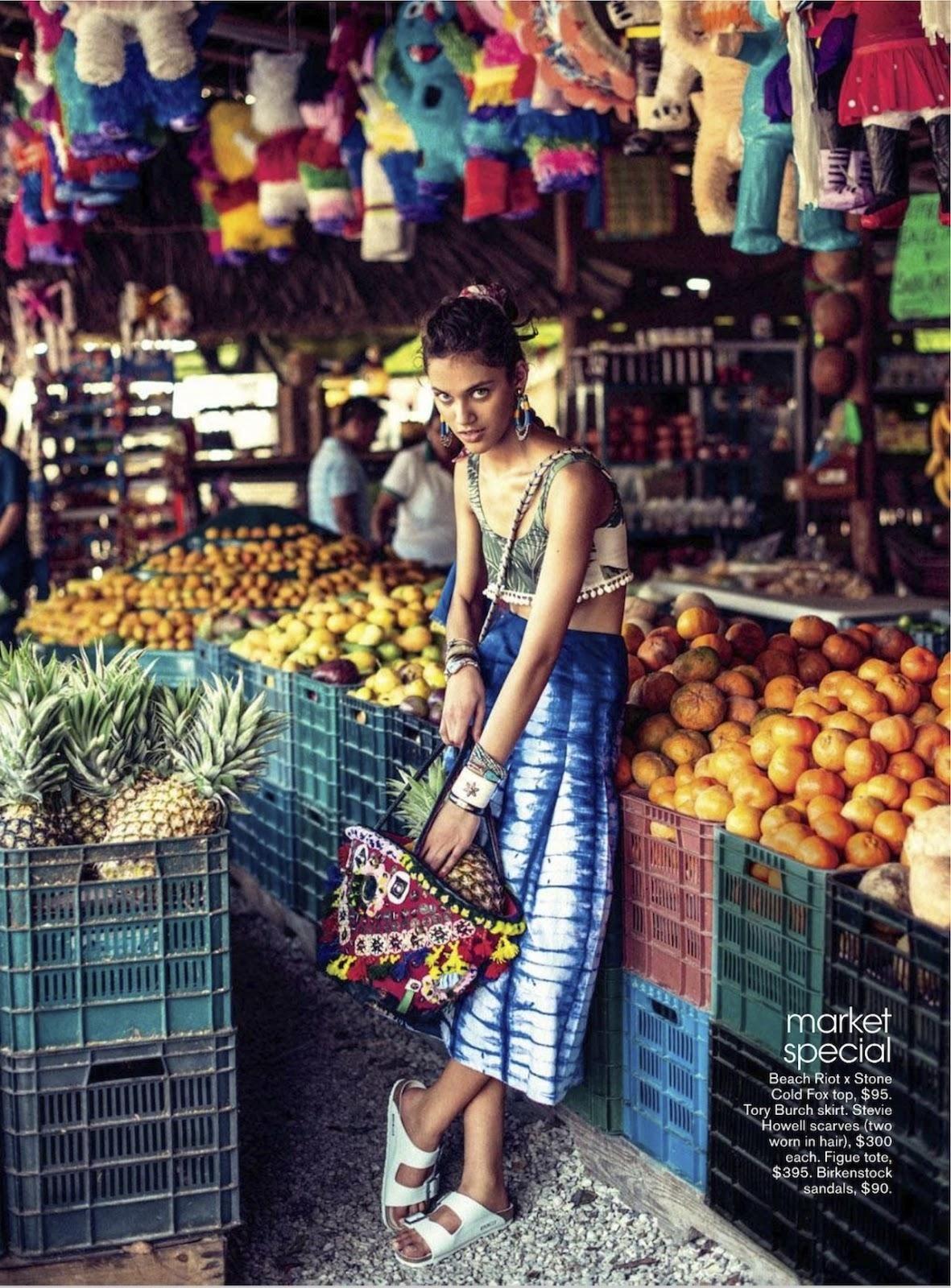 Summer editorial. Teen Vogue USA