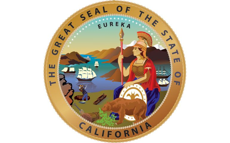California state seal california farmer california
