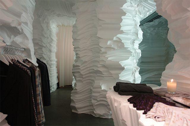 Richard Chai retail installation, New York
