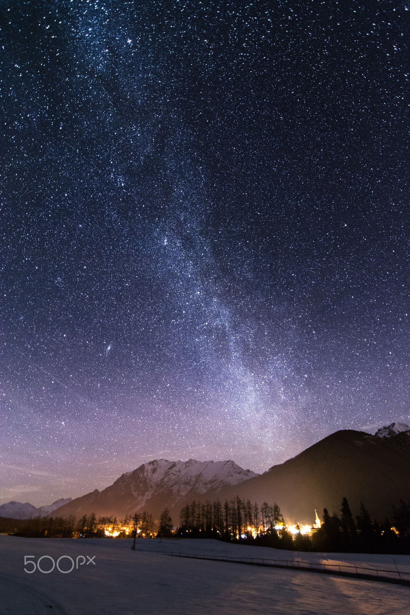 Milky Way Milky Way Landscape Nightscape Starry sky milky way landscape night