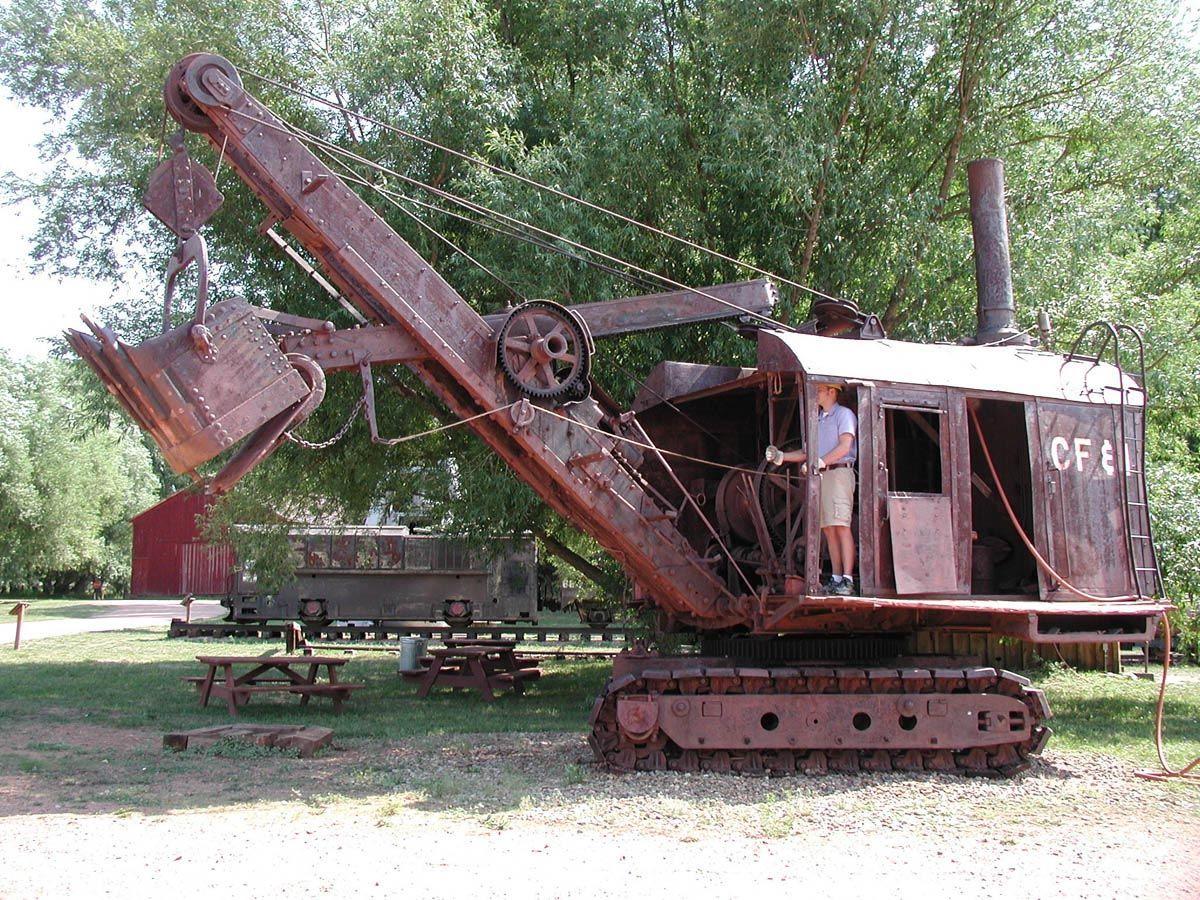 vecchie escavatrici a vapore le origini 9eac4718c1474fcb92a563bc2dae85e7