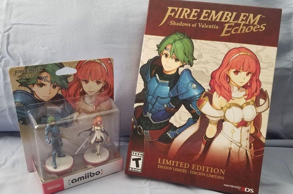 fire emblem echoes shadows of valentia limited edition ebay
