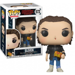 Preordered Stranger Things Eleven Punk Rock Pop Vinyl Figure Rs Stranger Things Funko Pop Vinyl Figures Pop Figurine