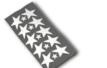 Respro® Hi-Viz I-Shots I-Shot Star Reflective Stickers www.respro.com