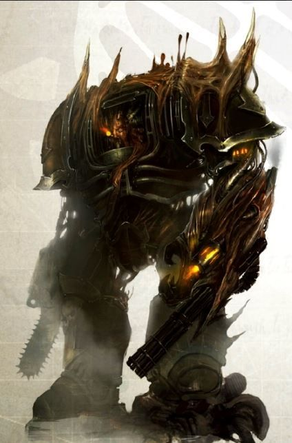 An Obliterator Is A Former Chaos Space Marine Often Techmarine Who Believed To Have Been Affected By The So Called Virus