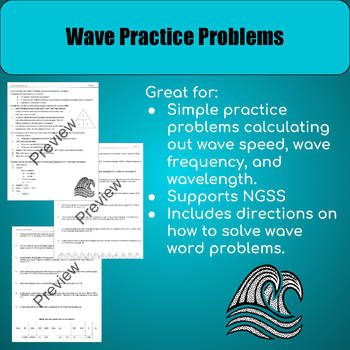 Wave Practice Problems (With images) | Physics lessons ...