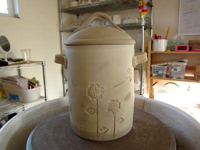 DirtKicker PoTTerY Pottery Compost Crocks - Part Two - Lids - komposteimer für die küche