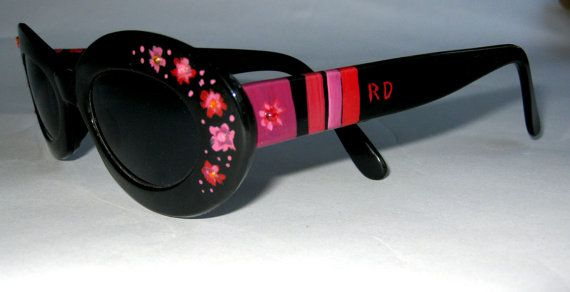 6b8b0baccfcf Classic RONEX Hand Painted Sunglasses by Roni Dori. Model by fly4u ...