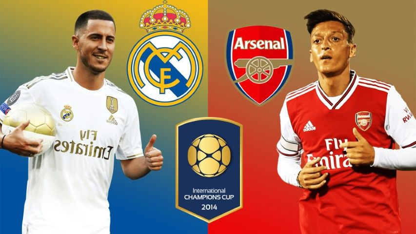 Real Madrid Vs Arsenal C Getty Images International Champions Cup Arsenal Live Real Madrid