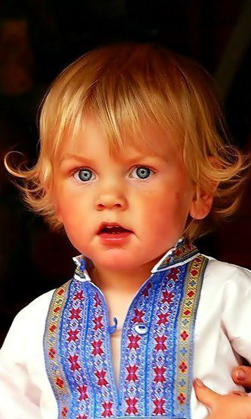 Ukrainian charming kid , from Iryna
