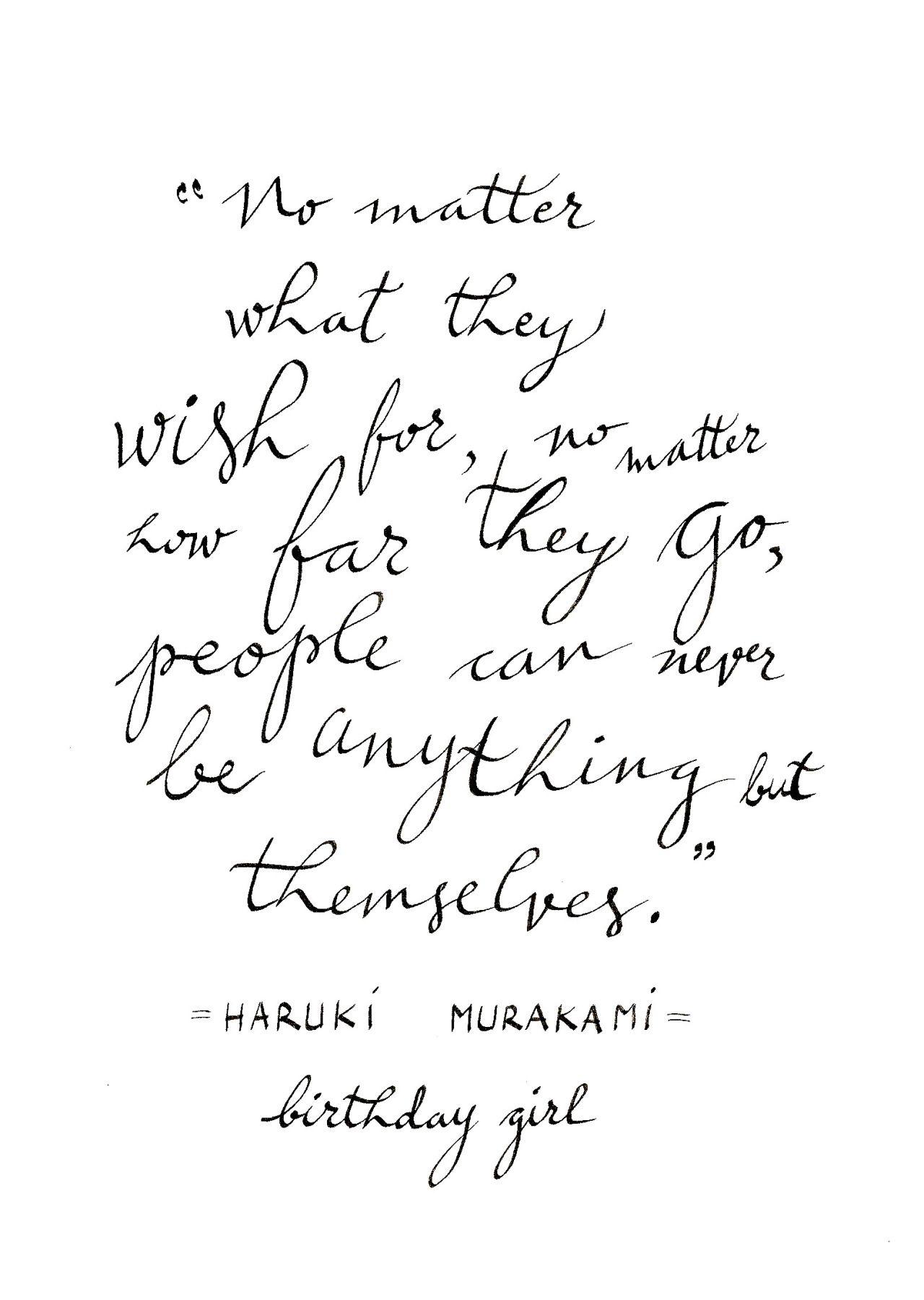 Readitbook Murakami Quotes Murakami Haruki Murakami