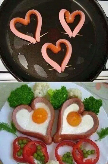 #heart #eggs #cooking