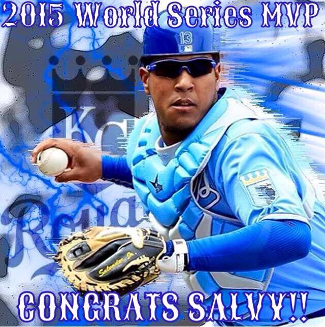 Salvy 2015 WS MVP!!!