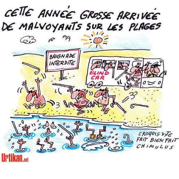 Humour De Vacances La Plage Dessin Du Jour Humour