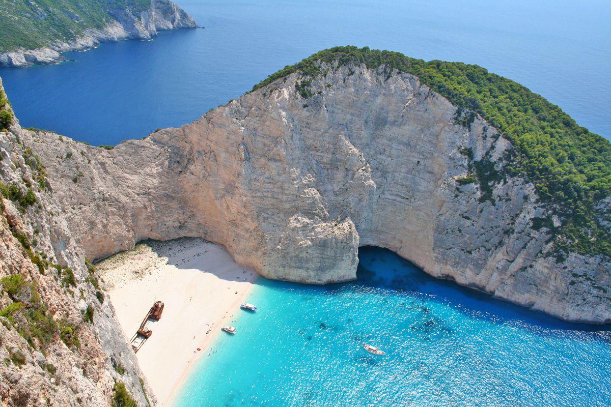 Navagio Beach / Zakynthos, Greece