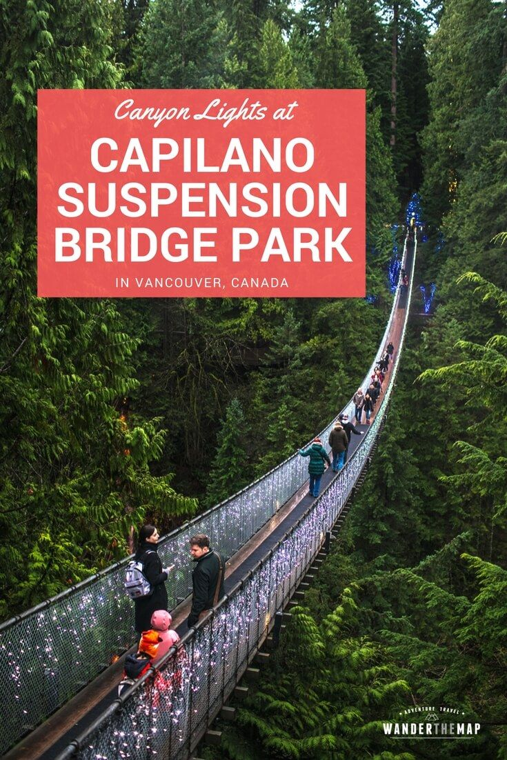 CAPILANO SUSPENSION BRIDGE CANYON LIGHTS COUPON